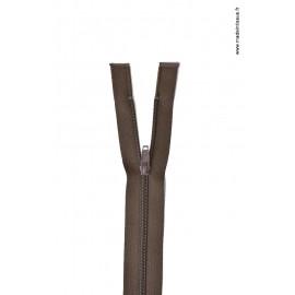 Fermeture éclair en nylon séparable col 990 Brou de Noix Z58