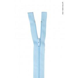 Fermeture éclair en nylon séparable col 505 Bleu Layette Z58