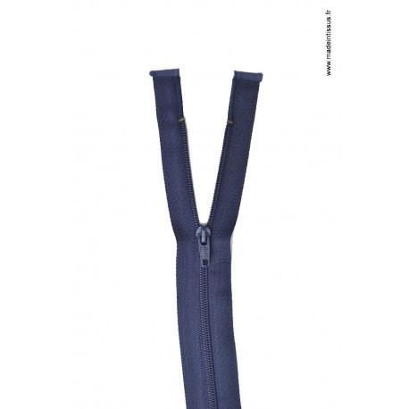 Fermeture éclair en nylon séparable col 570 Bleu marine Z58