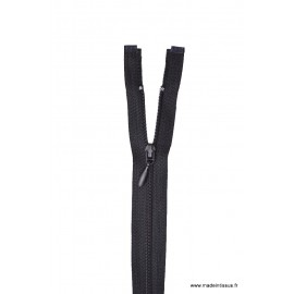 Fermeture éclair Fine et légère en nylon - séparable col 460 Noir Z45