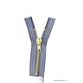 Fermeture éclair Z15 spéciale Jeans coloris Bleu Indigo 599