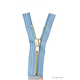 Fermeture éclair Z15 spéciale Jeans coloris Bleu Jean's