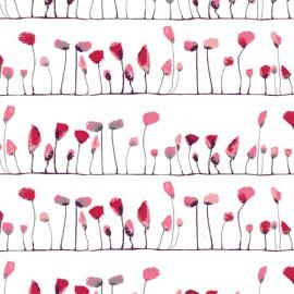 Popeline coton imprimé Coquelicots ART GALLERY DESIGNER  .x1m
