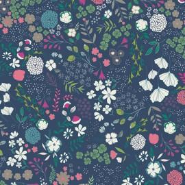 Popeline coton imprimé fleurs collection Flower Child ART GALLERY DESIGNER  .x1m