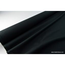 Tissu cretonne coton noir par 50cm