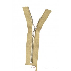 Fermeture éclair en nylon SPECIALE PANTALON MAILLE ARGENT col 945 Beige Moyen - Z16