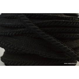 Passepoil en visose BOCCA 5mm coloris Noir