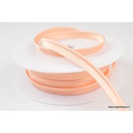 Passepoil satin 10 mm coloris Saumon 1055