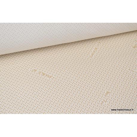 Tissu coutil anti bactérien, anti acarien, non feu
