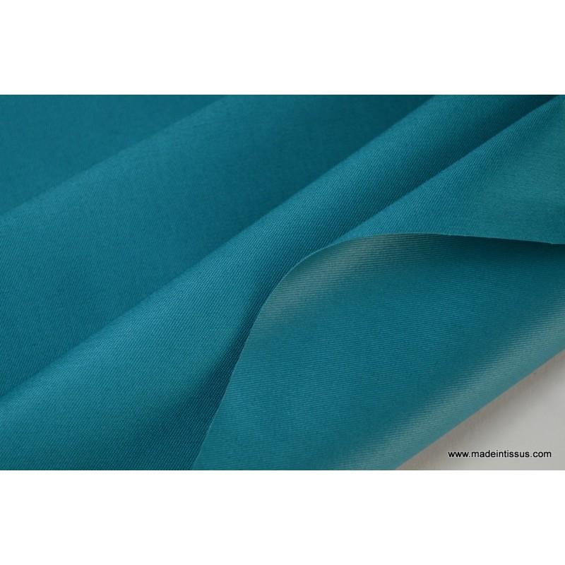 tissu gabardine imperm able polyester coton emeraude. Black Bedroom Furniture Sets. Home Design Ideas