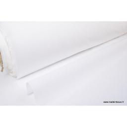 Toile Blanc 100% polyester