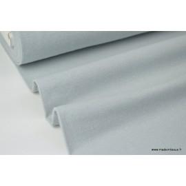 Tissu Flanelle unie GRIS .x1m