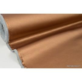 Tissu Faux cuir brillant coloris CUIVRE