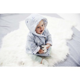 Patron ANORAK matelassé bébé du 1 au 12 mois