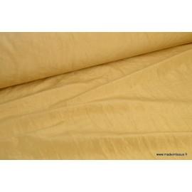Tissu taffetas changeant Or