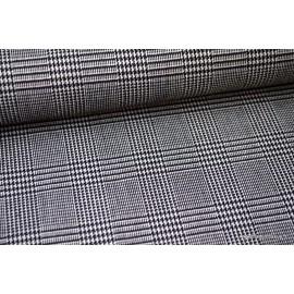 Tissu Tailleur Prince de Galle gris et Noir