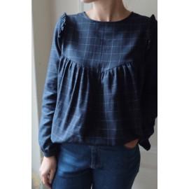 Pochette patron Robe ou blouse LOUISE MUM by Ikatee