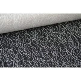 Tissu Tulle résille blanc pour décoration