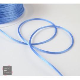 Queue de rat au mètre 2mm coloris Bleu