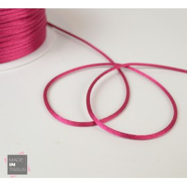 Queue de rat au mètre 2mm coloris Fuchsia