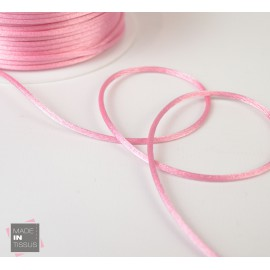 Queue de rat au mètre 2mm coloris Rose