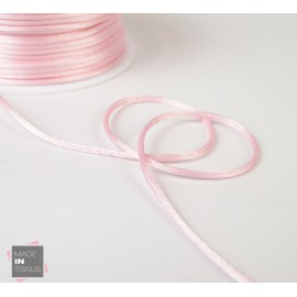 Queue de rat au mètre 2mm coloris Rose Clair