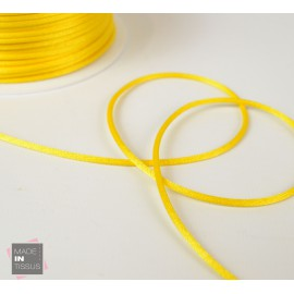 Queue de rat au mètre 2mm coloris Jaune