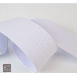 Elastique Maille 50mm Blanc