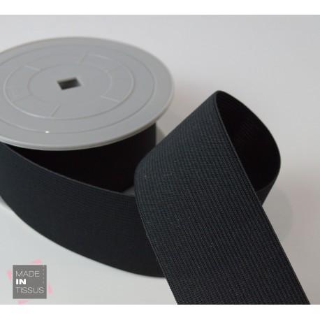 Elastique Maille 50mm Noir