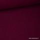 Tissu Double gaze coton prune