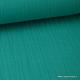 Double gaze 100% coton turquoise