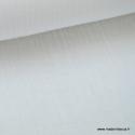 Tissu Double gaze coton Blanc .x1m