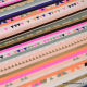 Tissu coton RICO design collection ALPACA rayures
