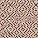 Tissu Popeline coton imprimé Formes géométriques rose et bleu ART GALLERY DESIGNER  .x1m