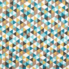 tissu  coton imprimé dessin TRIMIX
