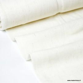 Tissu Viscose lin fluide imprimé  Naturel