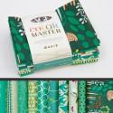 Lot de 10 coupons de tissus en Coton ART GALLERY thème Vert