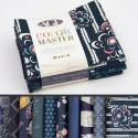 Lot de 10 coupons de tissus en Coton ART GALLERY thème Marine