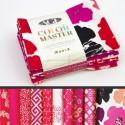 Lot de 10 coupons de tissus en Coton ART GALLERY thème Fuchsia
