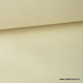 Tissu cretonne coton NATUREL