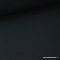Tissu Popeline coton uni noir