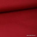 Tissu Popeline coton uni bordeaux