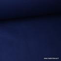 Tissu Popeline coton uni marine