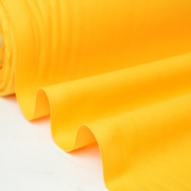Tissu cretonne coton jaune Soleil