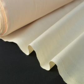 Tissu cretonne coton Oeko tex ivoire