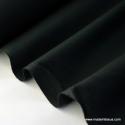 Tissu cretonne coton noir