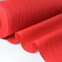 Tissu cretonne coton rouge