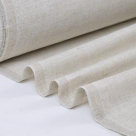 Tissu cretonne coton lin.