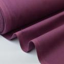 Tissu cretonne coton prune .x1m