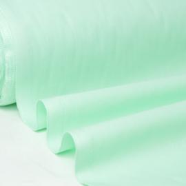Tissu cretonne coton Menthe